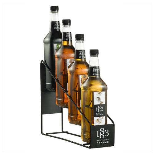 1883 Syrup 4 Bottle Display Rack