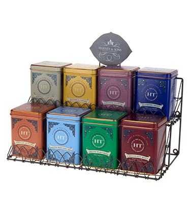 Harney - Sons Hot Tea Tin Display Rack