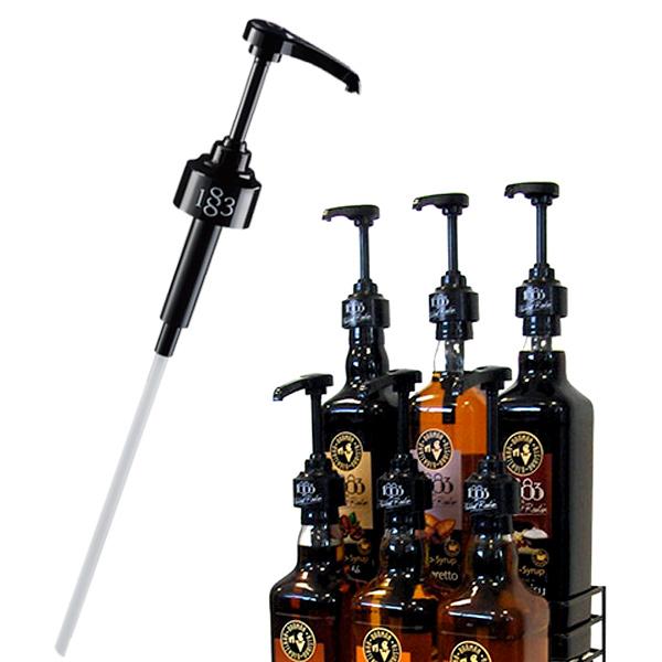 Pump for 1883 Brand syrup bottles