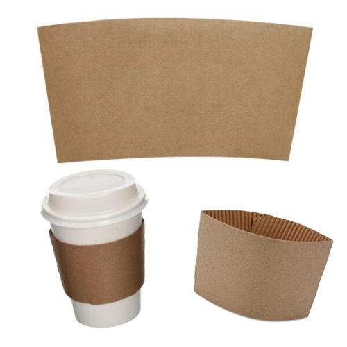 coffee cup sleeve kraft