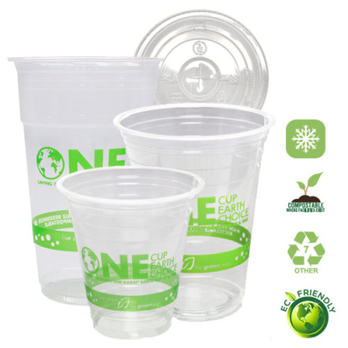 Eco-Friendly Cold PLA Cups