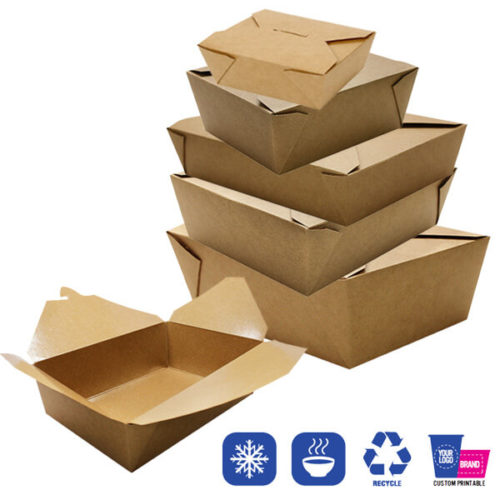 Fold-To-Go Take-Out Boxes