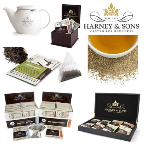 Harney & Sons Individually Wrapped Hot Tea Sachets