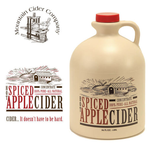 mountain spiced cider
