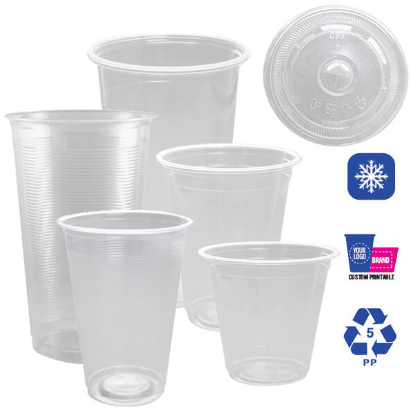 PP Cold Cups & Lids