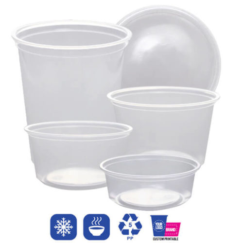 pp deli containers