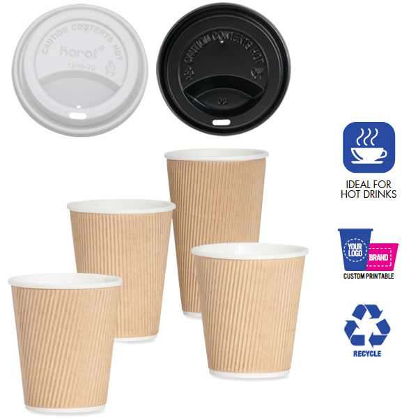 ripple hot paper cups