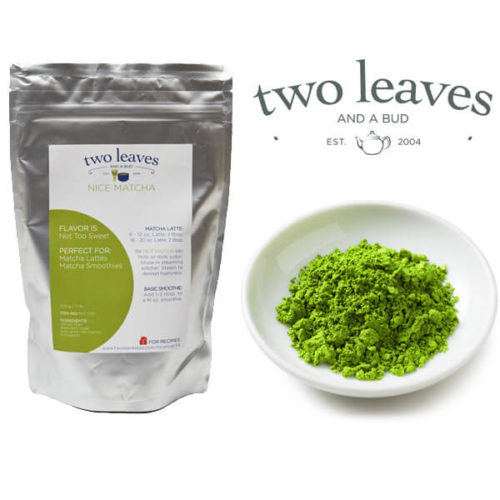 two leaves nice matcha