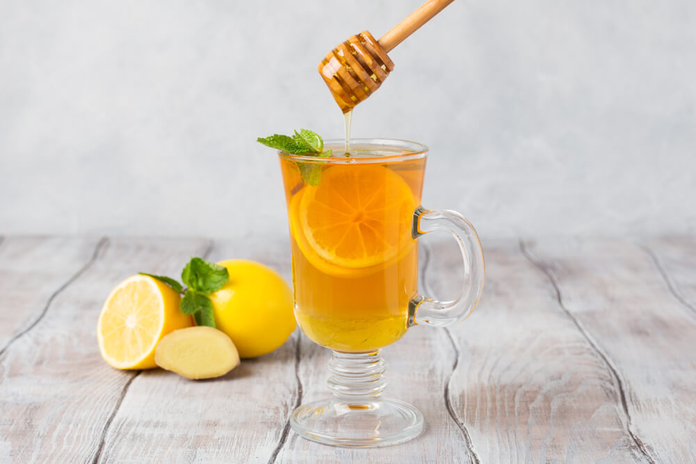 honey healthy drink